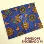 Envelope médio de pano encerado ECOenvelope  - Não use mais plástico filme nem papel alumínio!