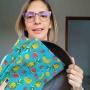 Minha ECOCozinha - Kit de travessa saladeira redonda acompanhada de pano de cera 100% algodão - Não use mais plástico filme!