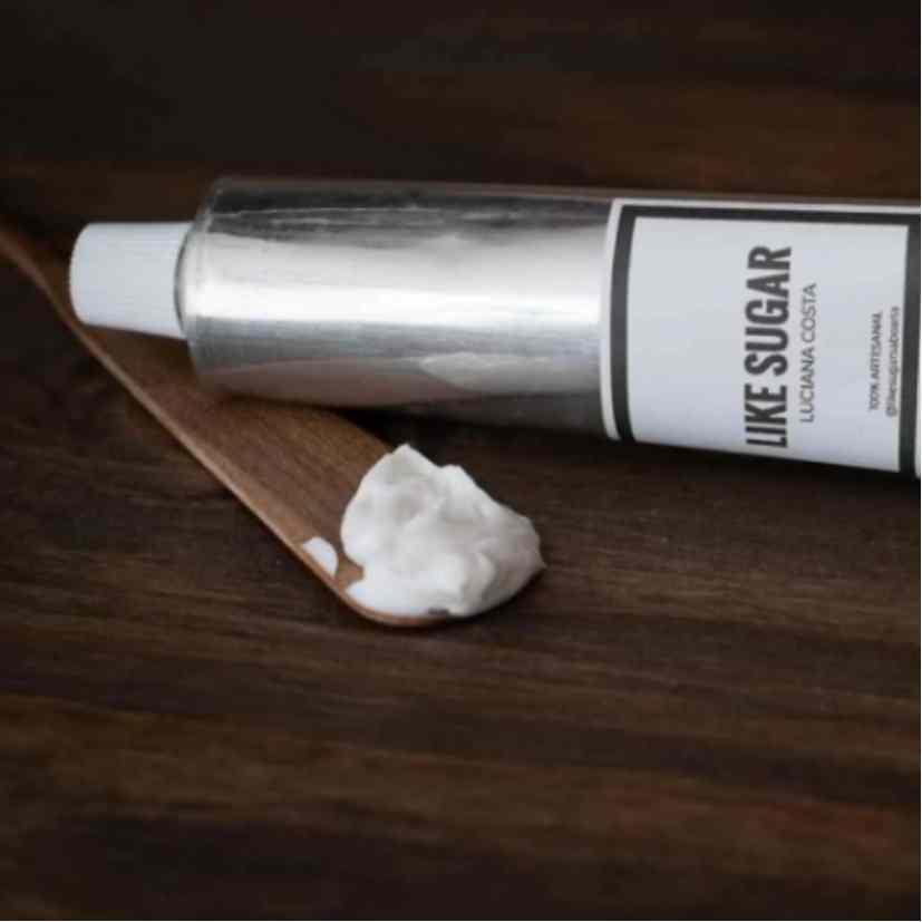 Creme de Mão Hidratante Luvas de Silicone Natural Artesanal Like Sugar