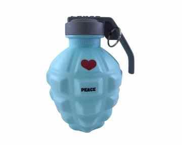 Garrafa Tipo Cantil Para Água Portátil e Reutilizável 350 Ml