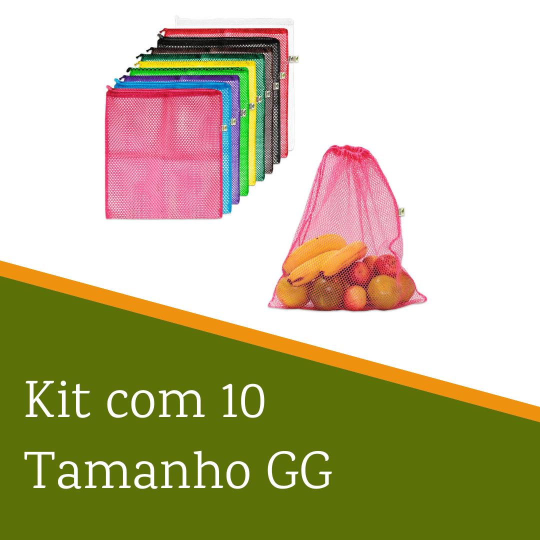Kit com 10 saquinhos | Tamanho GG