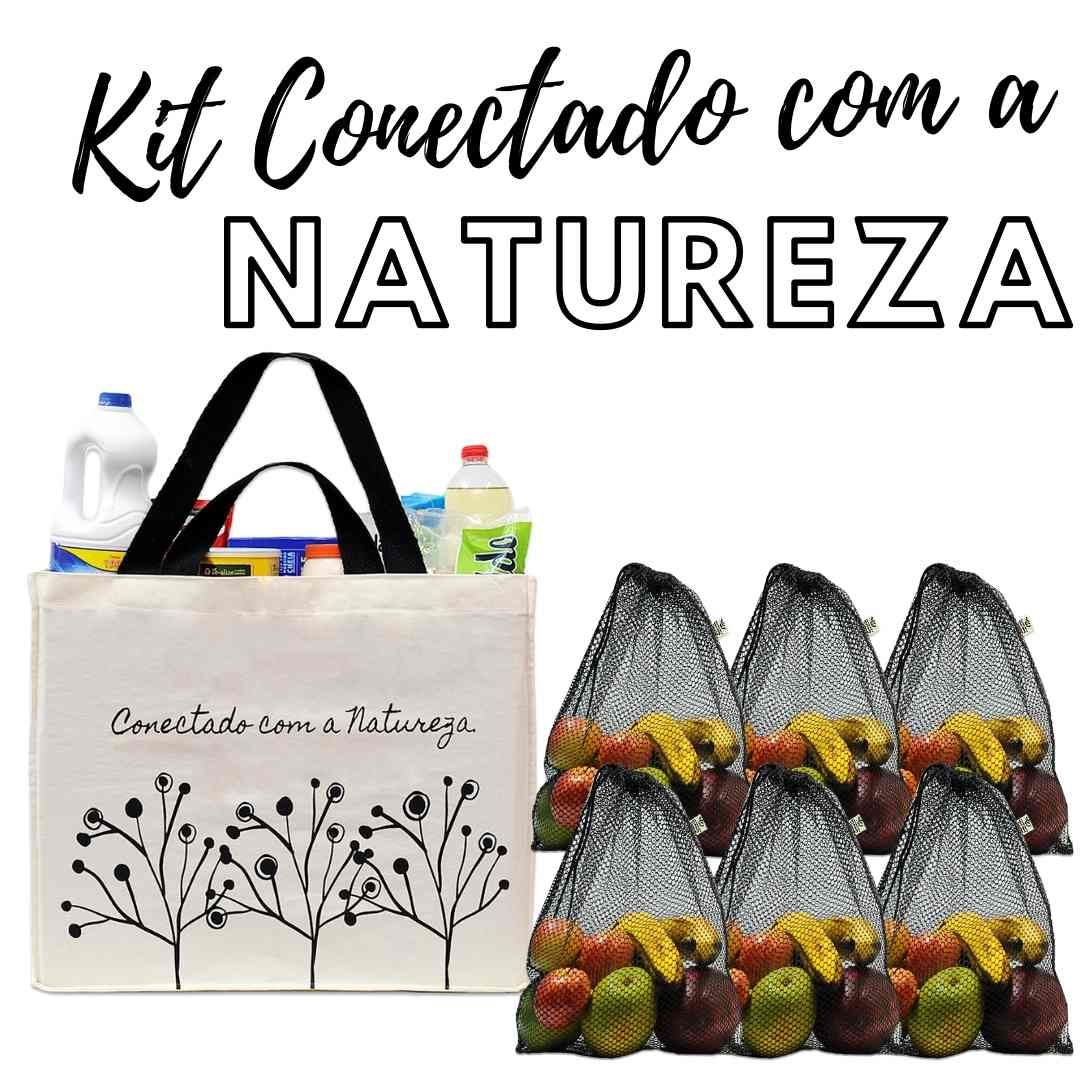 Kit Ecobags Colors!  - Ideal para o dia a dia!