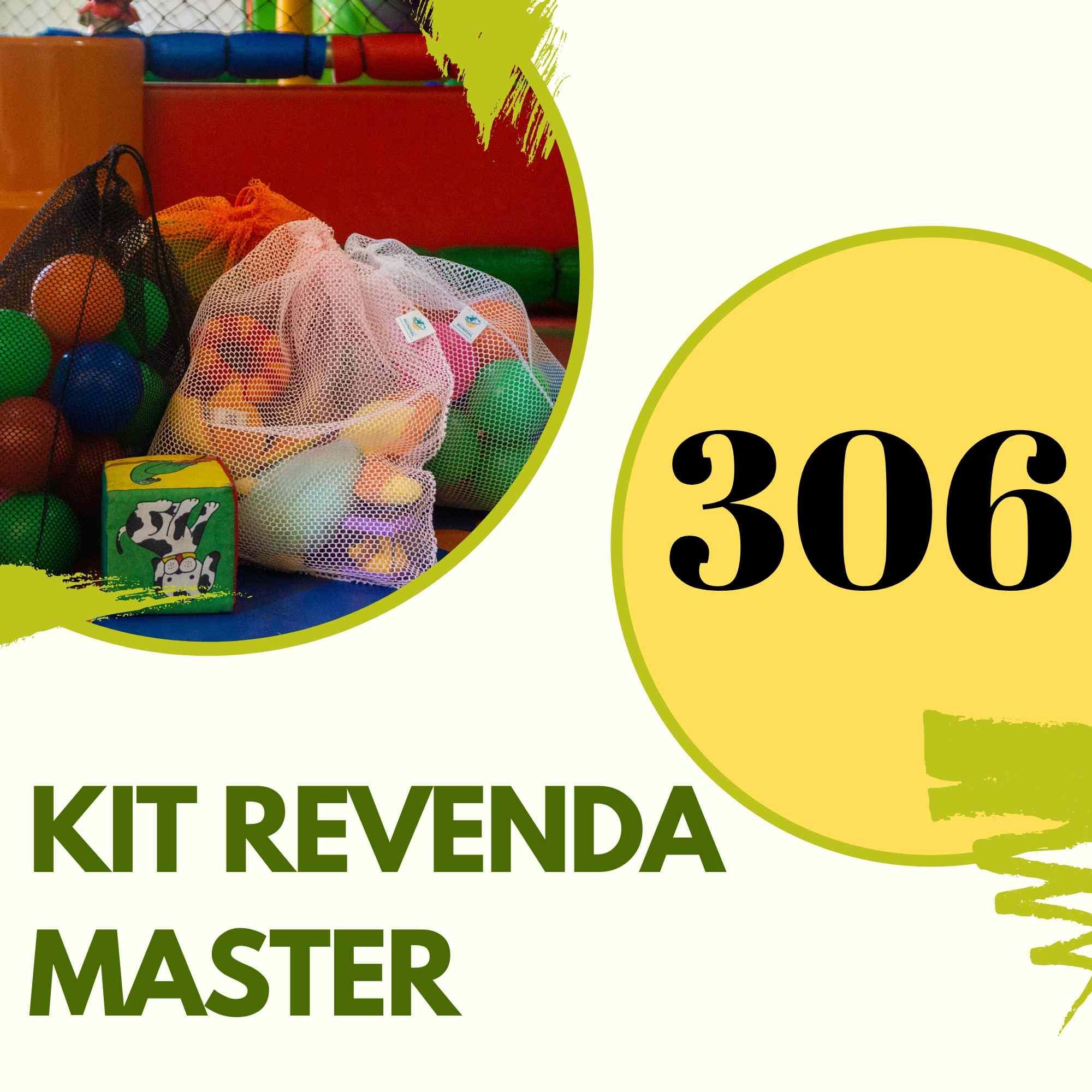 KIT REVENDA MASTER 306 saquinhos