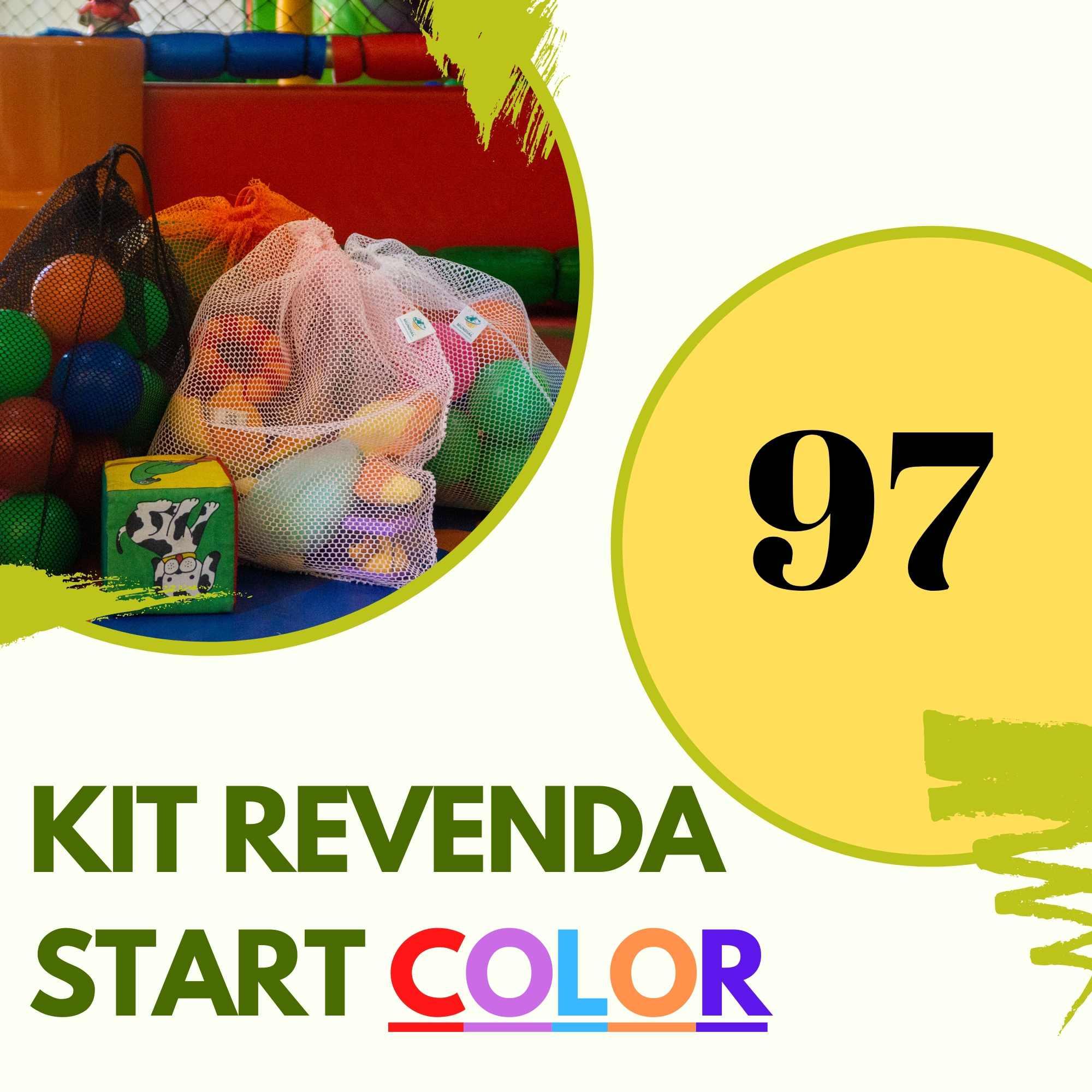 Kit REVENDA START COLOR  97 saquinhos