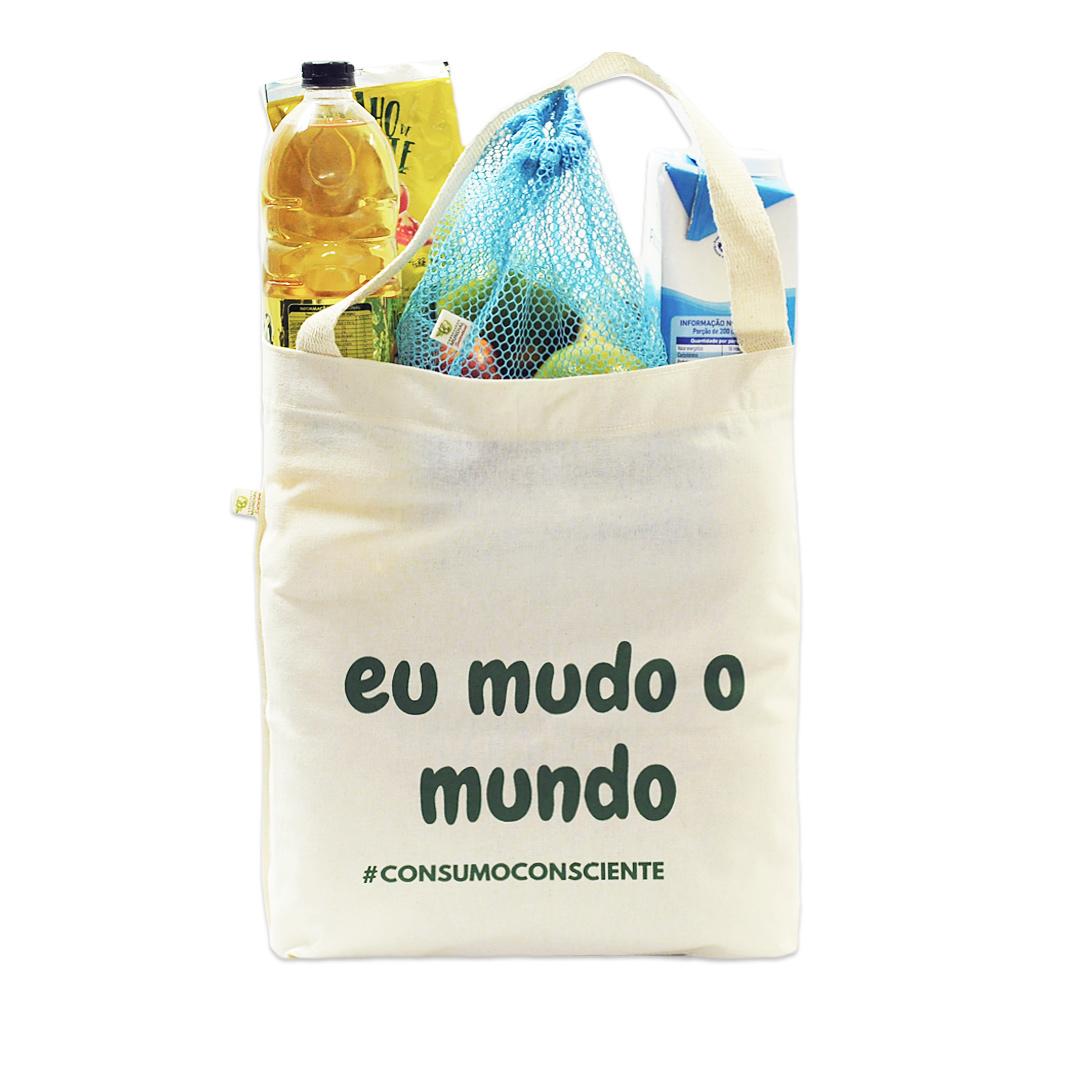 Kit Zero Lixo - Eu participo da Campanha Olho Grande do Bem!