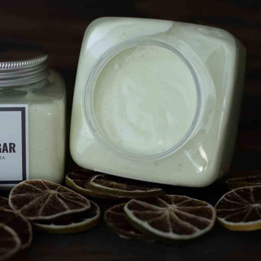 Manteiga Corporal Limão Siciliano e Chá Branco Cosmético Natural Artesanal Like Sugar