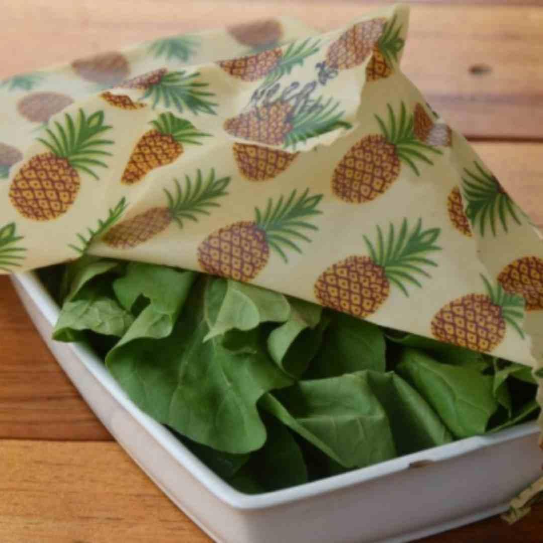 Pano encerado ECOwrap  - Kit com 6 panos de cera - Não use mais plástico filme ou papel alumínio!