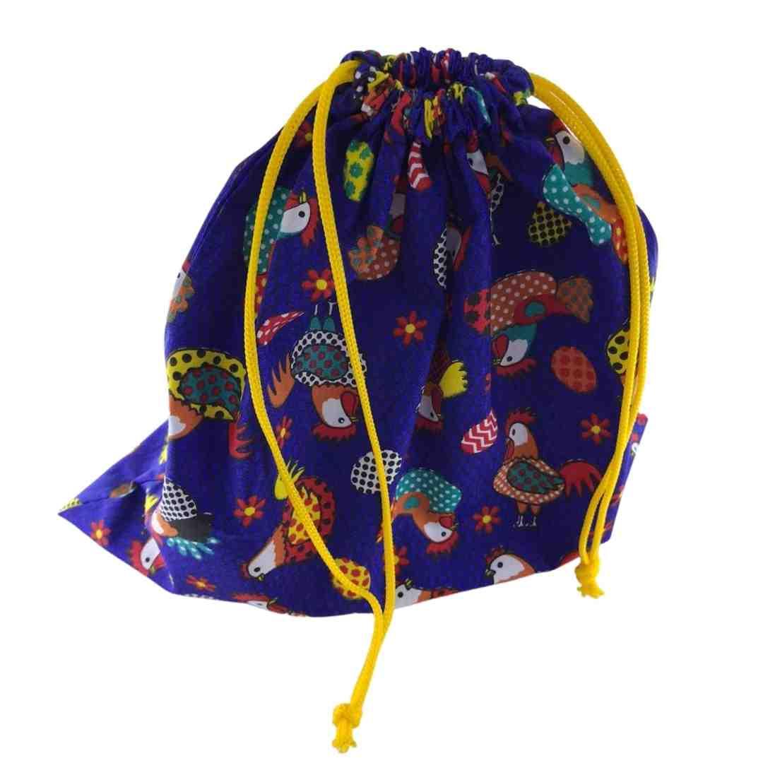 Saquinhos  reutilizáveis para compras a granel, em armazéns e feiras