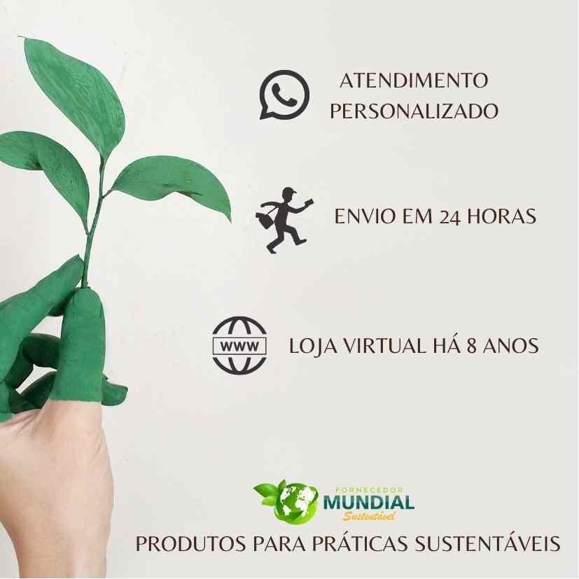 Vaso tipo cachepô para plantas e para organização  da linha EVO feito com matéria prima sustentável