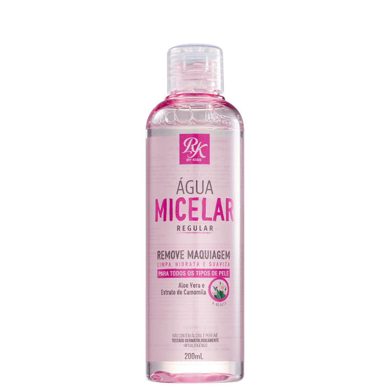Água Micelar Regular 200ml - Kiss New York RK By Kiss