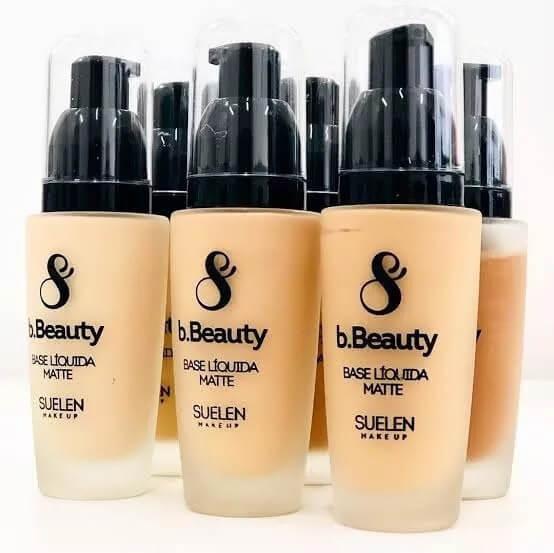 Base Líquida Matte bBeauty - Suelen Makeup