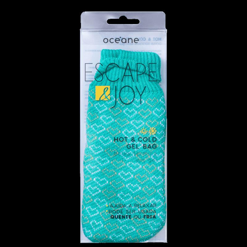 Bolsa Térmica em Gel Verde - Hot & Cold Gel Bag - Océane Escape & Joy
