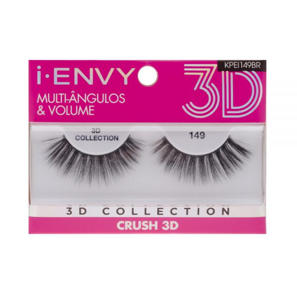 Cílios Postiços 3D Collection - Crush 149 - i-ENVY - Kiss New York