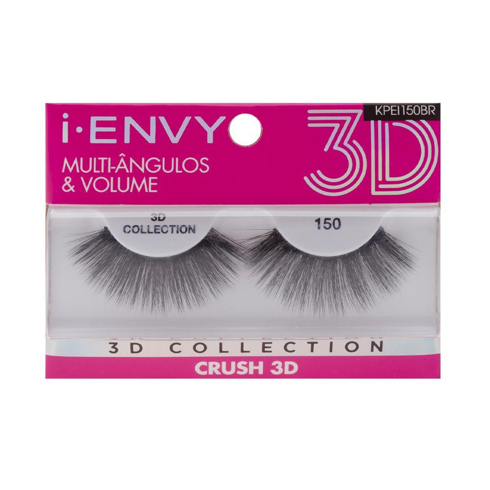 Cílios Postiços 3D Collection - Crush 150 - i-ENVY - Kiss New York