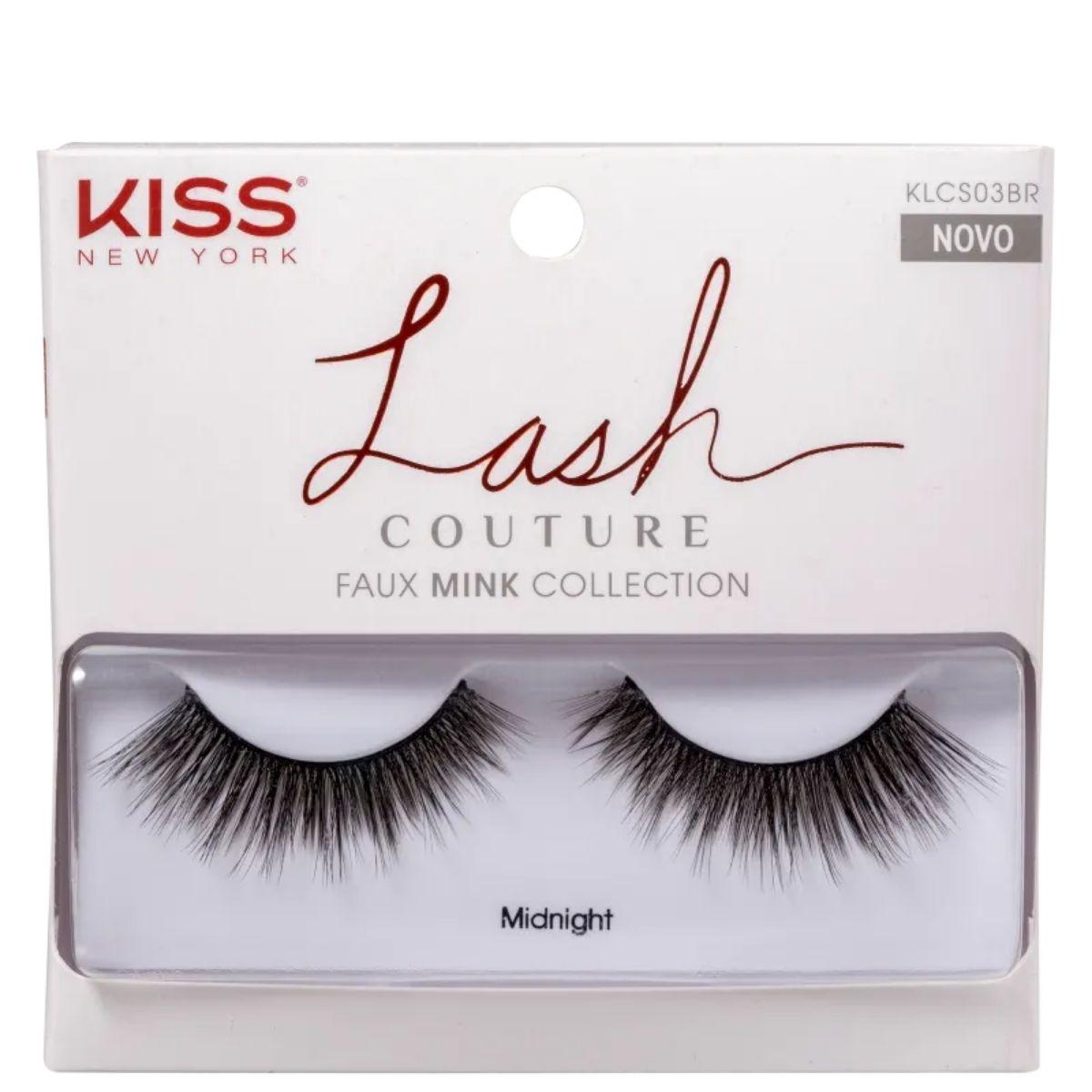 Cílios Postiços Kiss New York Lash Couture Midnight