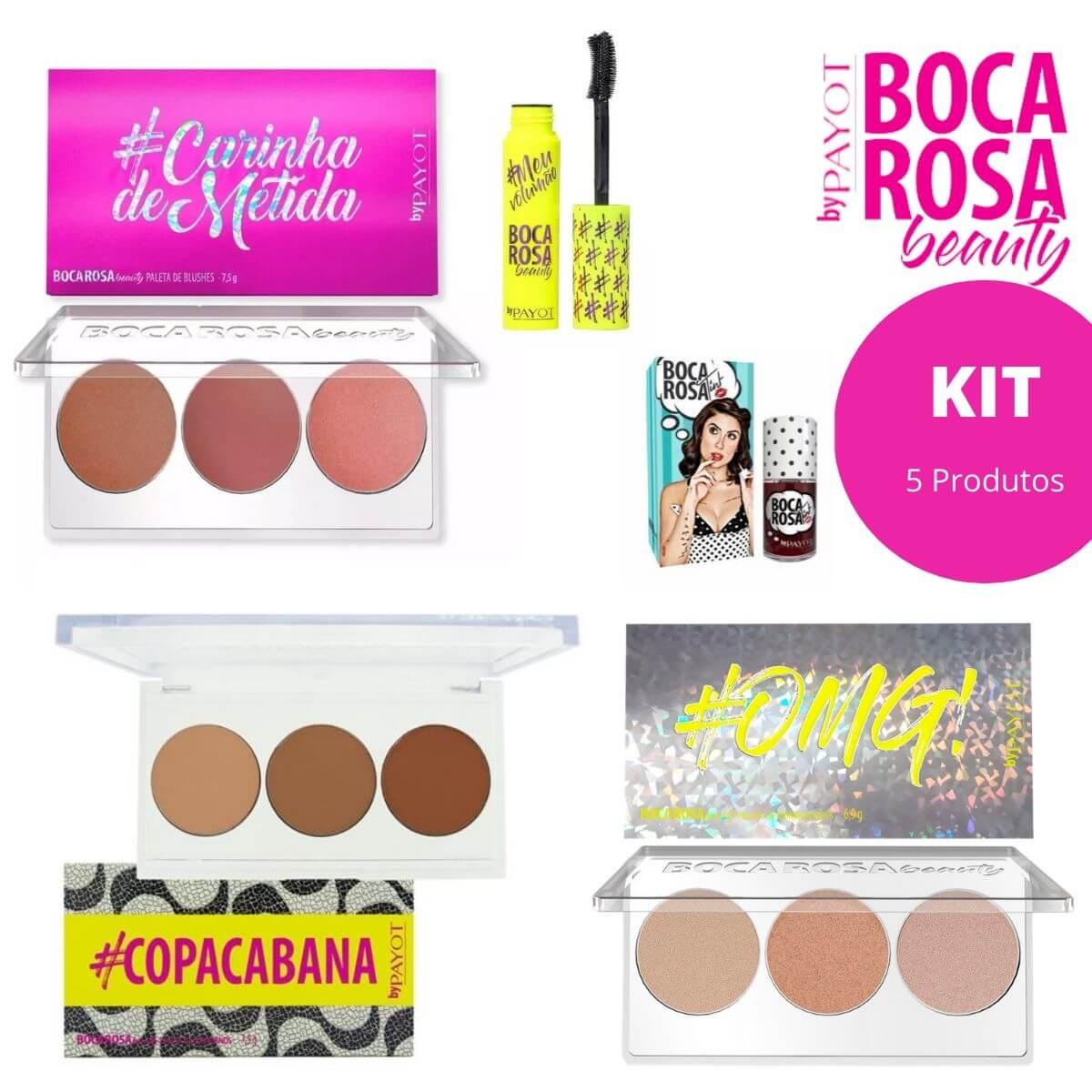 Kit Boca Rosa beauty by Payot - 5 Produtos