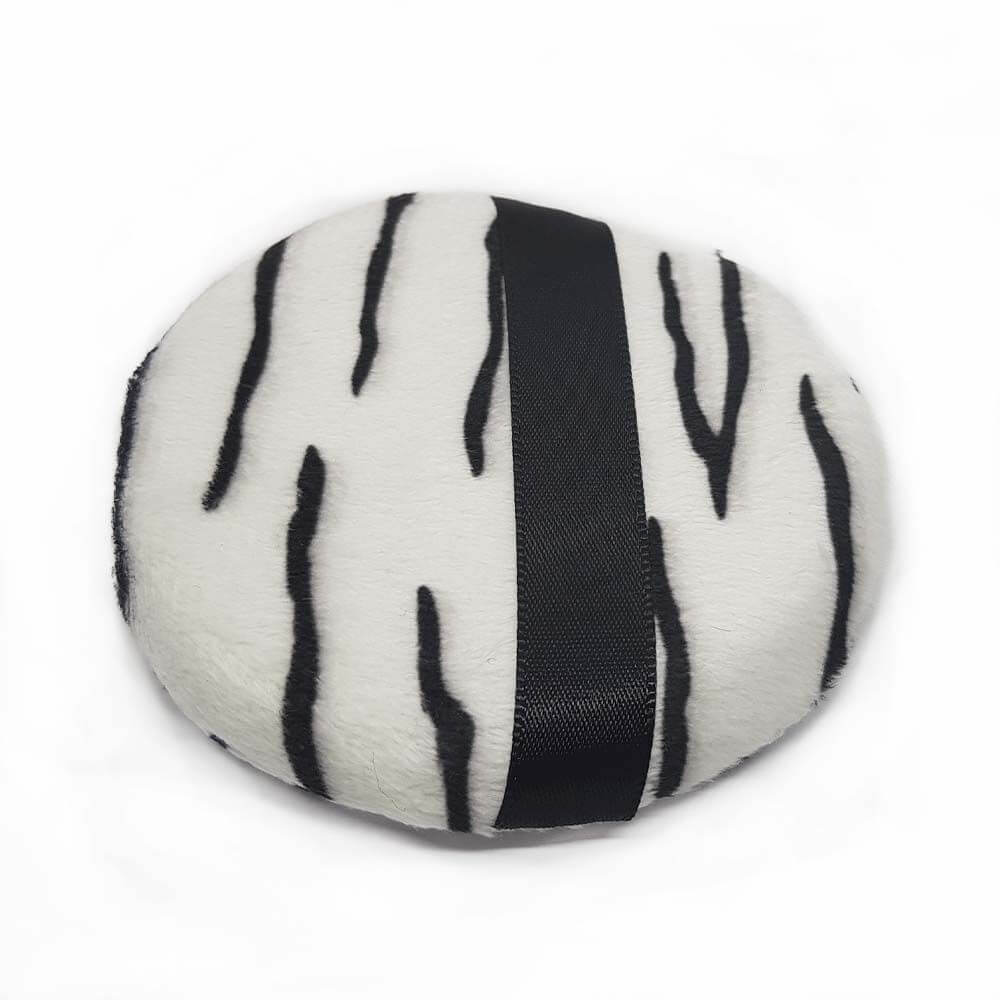Esponja Redonda para Pó - Zebra