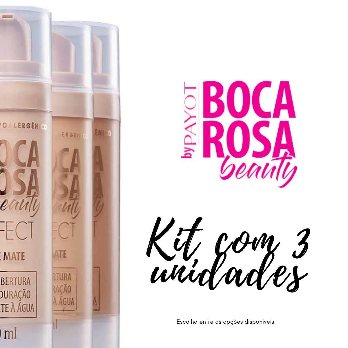 Kit 3 Bases Boca Rosa