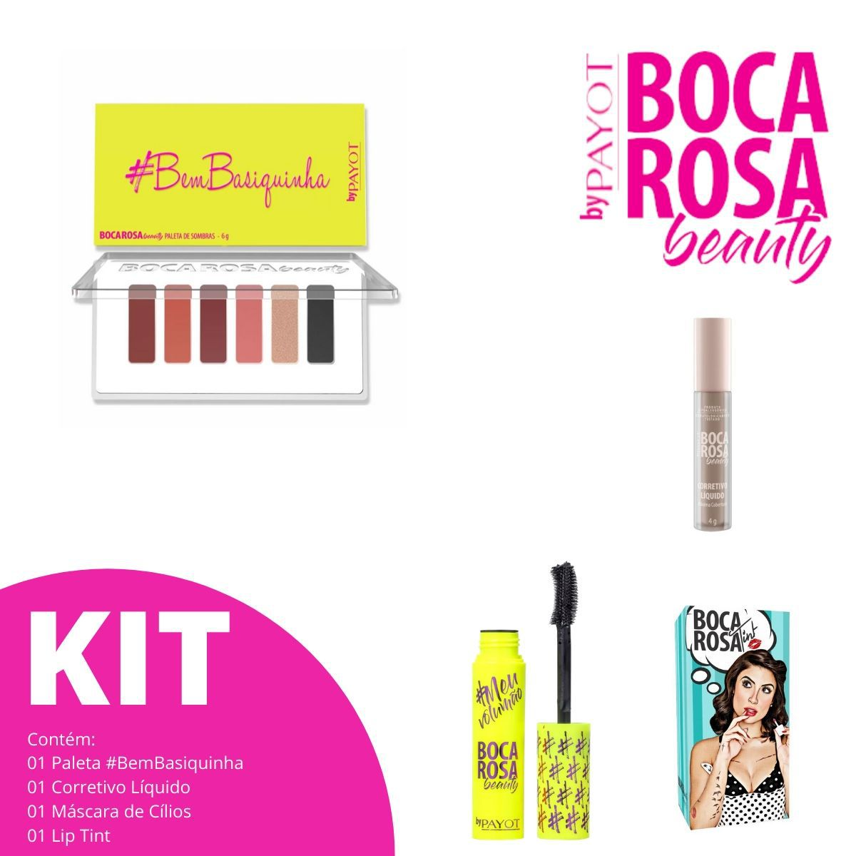 Kit Boca Rosa 01