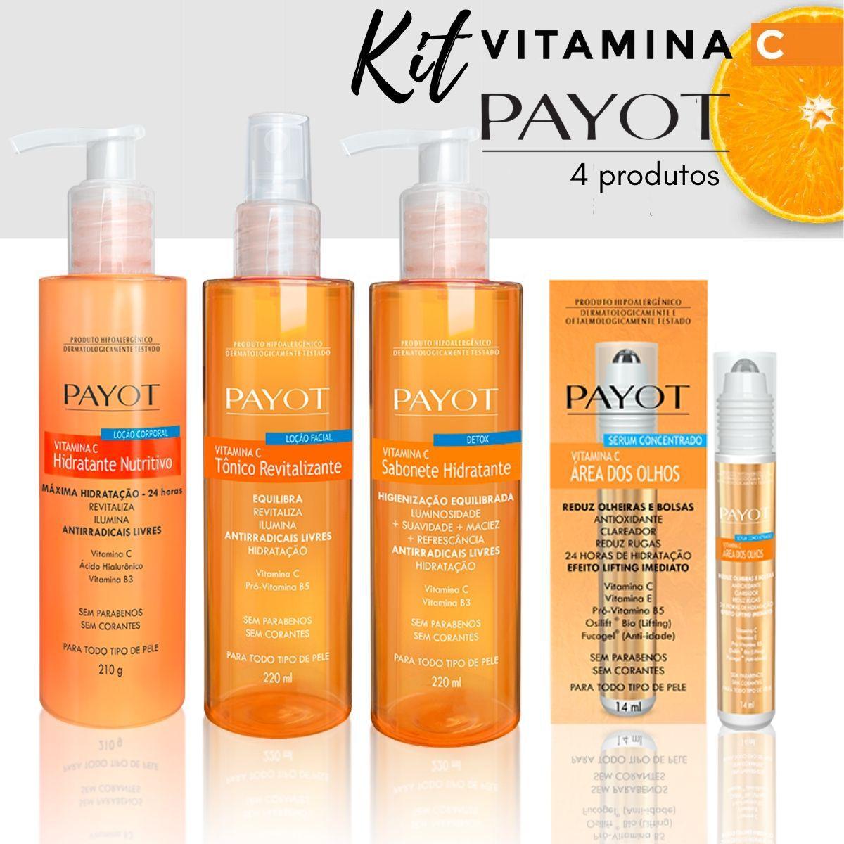 Kit Cuidados Vitamina C - Payot