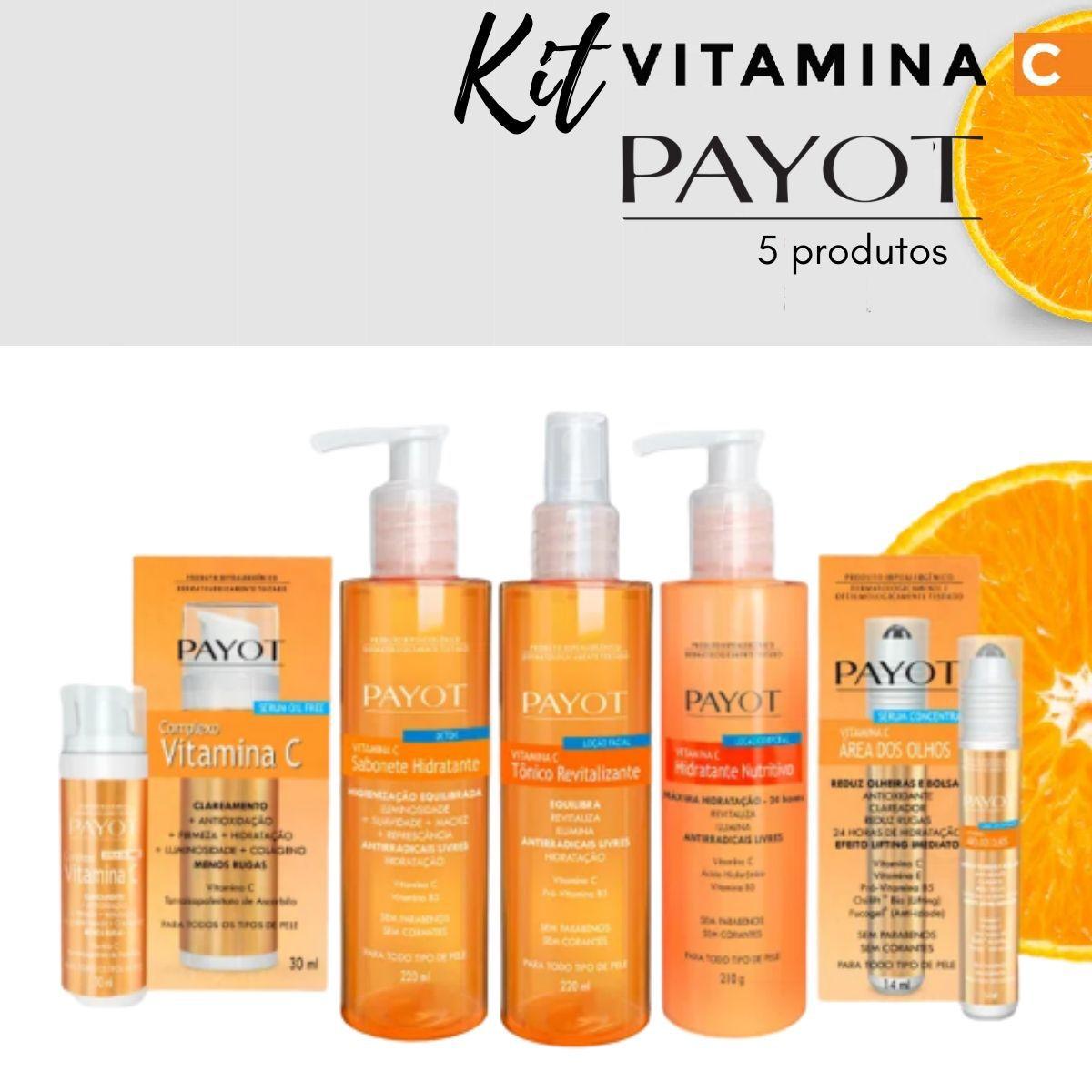 Kit Família Vitamina C - Payot  (5 produtos)