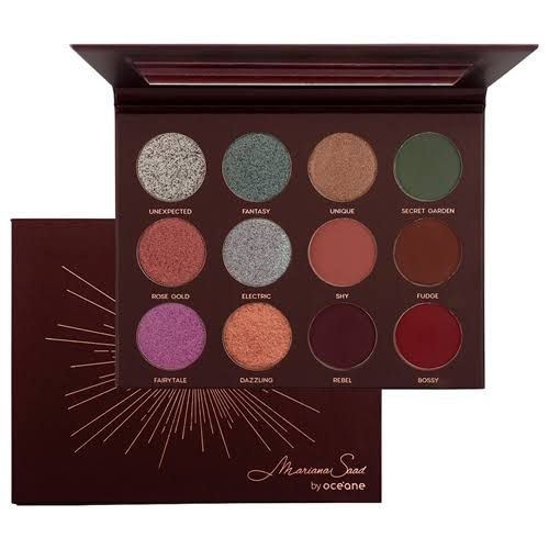 Kit Paleta 12 Shades + Paleta Let It Shine Mariana Saad