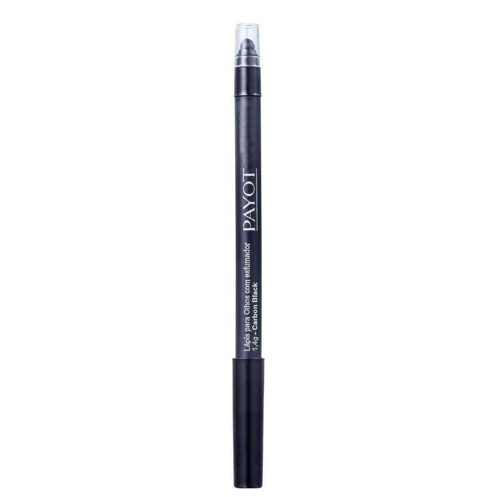 Lápis Para Olhos Com Esfumador  Carbon Black -  Payot