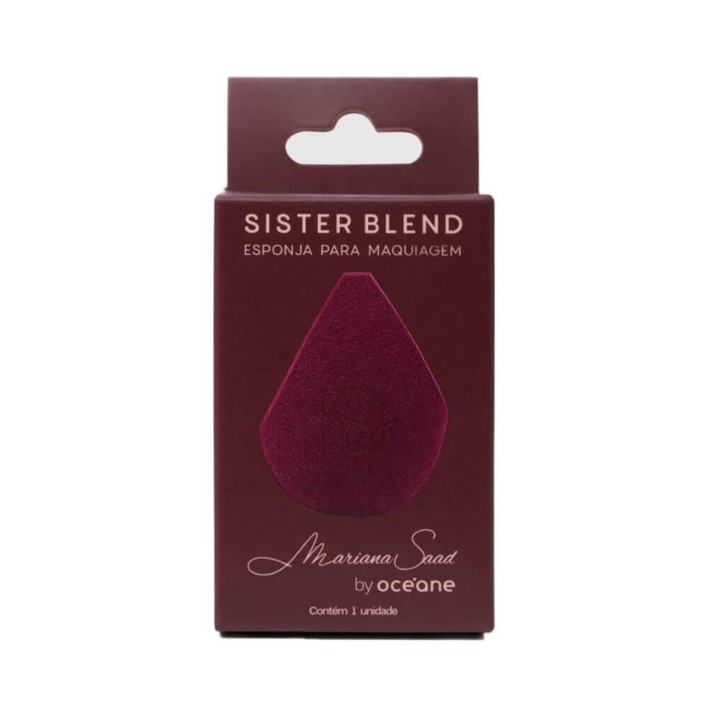 Mariana Saad Sister Blend - Esponja de Maquiagem Vinho by Océane