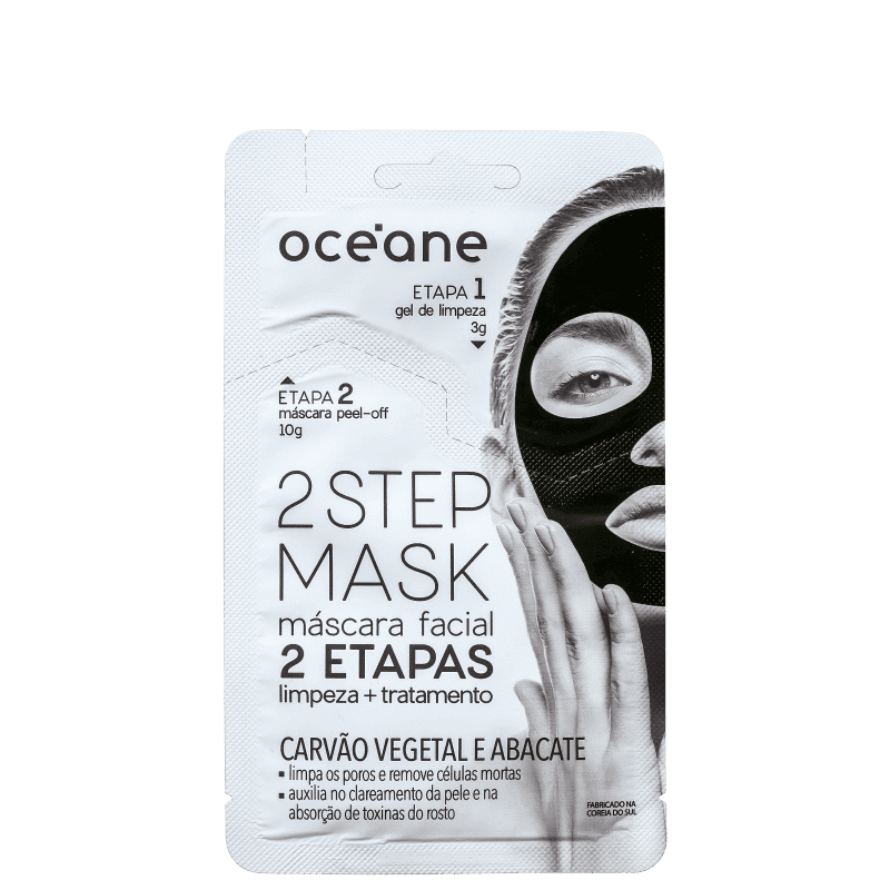 Máscara Facial Dual Step - Oceane 2 Step Mask