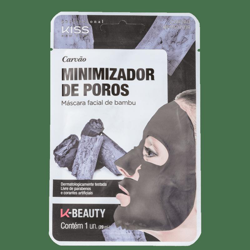 Máscara Facial Kiss NY Carvão Minimizador de Poros - 20ml