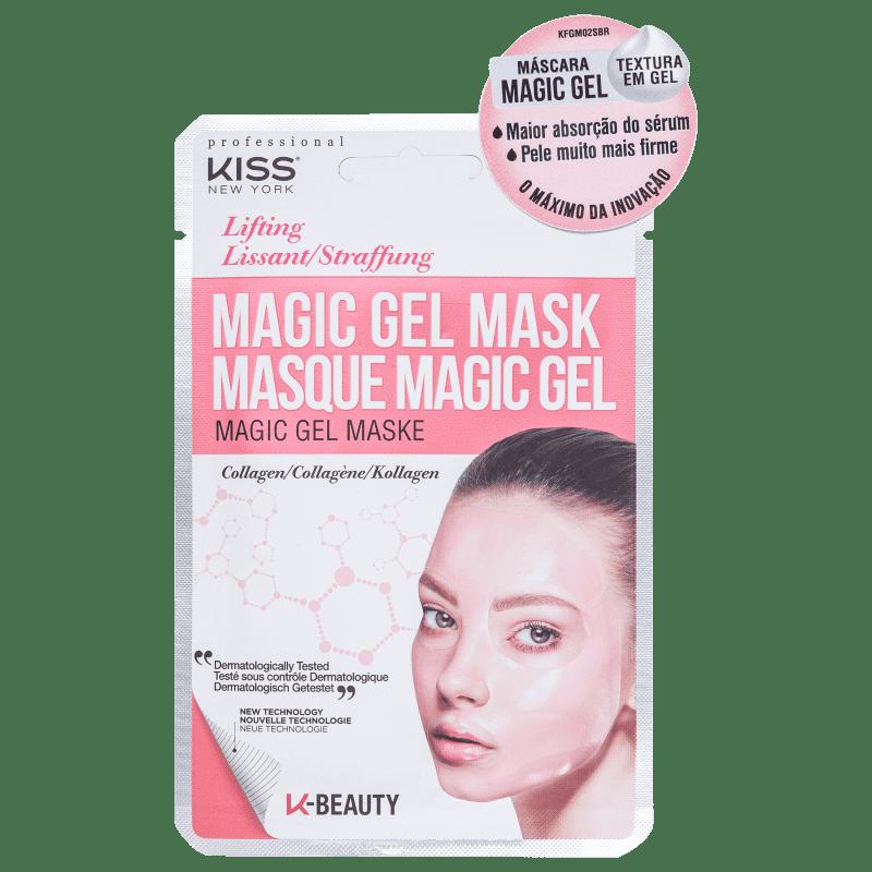 Máscara Facial Kiss NY Magic Gel Collagen -  23ml