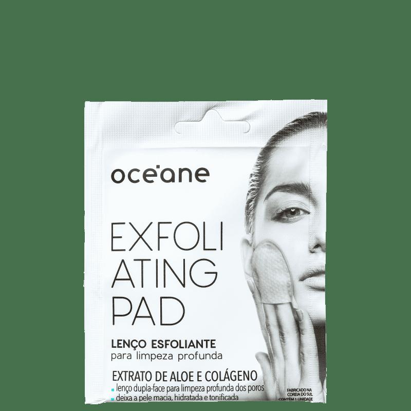 Océane Exfoliating Pad - Lenço Esfoliante para Limpeza Profunda (1 Un)