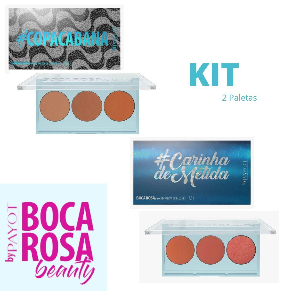 Paleta Carinha de Metida + Copacabana Boca Rosa