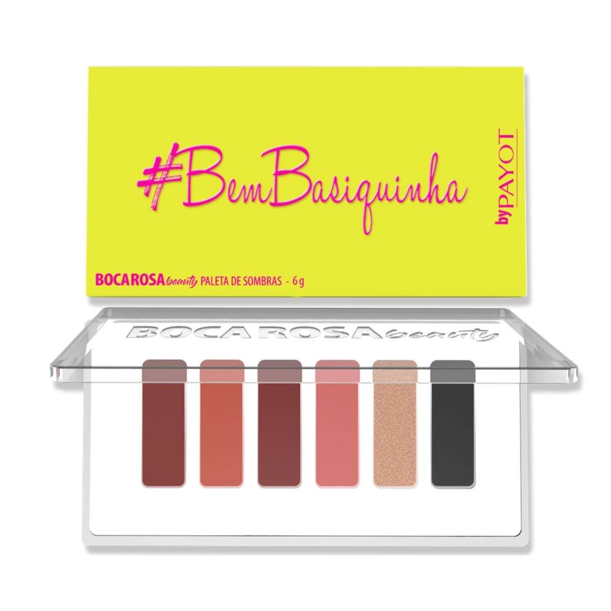 Paleta de Sombras Boca Rosa #BemBasiquinha - Payot