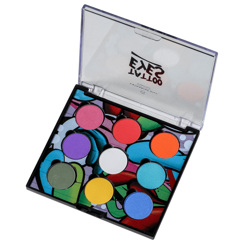 Paleta de Sombras Tattoo Eyes - Catharine Hill