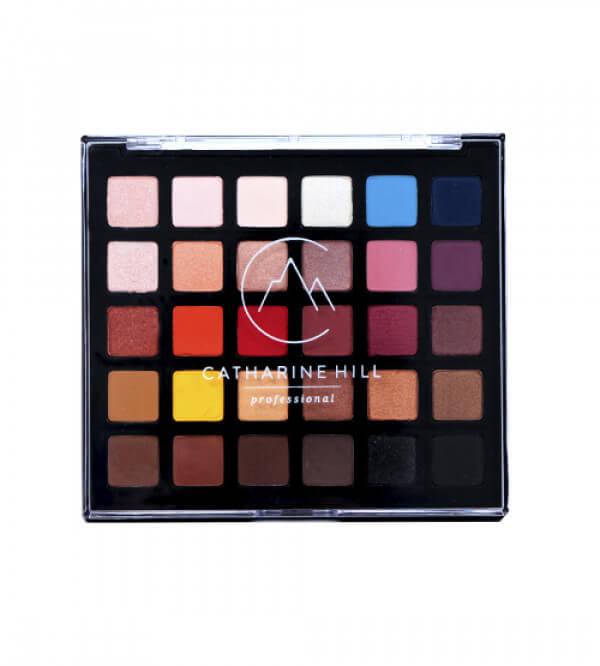 Paleta de Sombras Variadas - 30 Cores de Alta Pigmentação de Durabilidade - Edição 15 Anos
