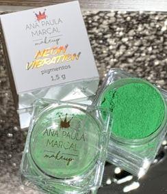 Pigmento Neon Vibration Green - Ana Paula Marçal