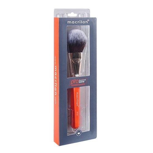 Pincel para Pó, Contorno e Iluminador Macrilan Beauty Tools Profissional - BT02