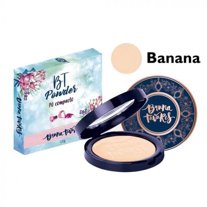 Pó Compacto BT Powder Banana - Bruna Tavares