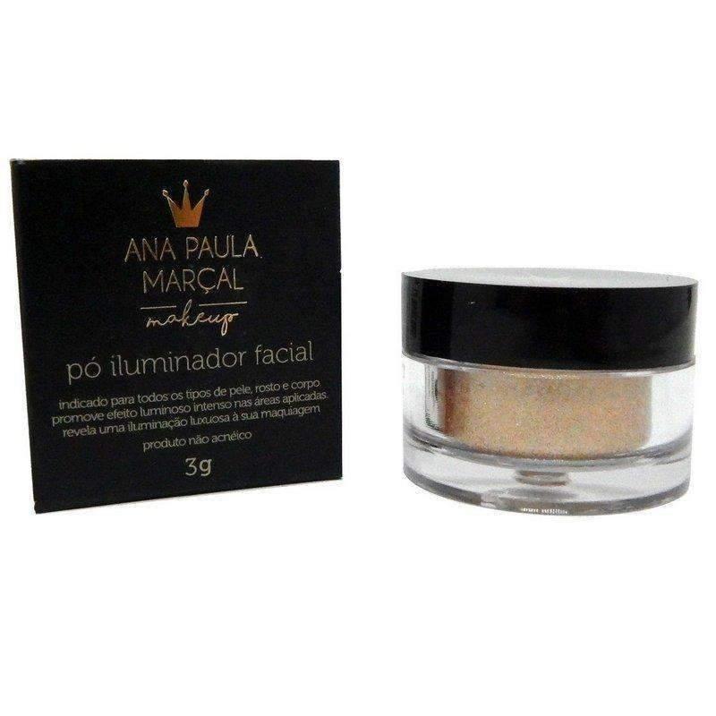 Pó Solto Iluminador Facial Cor Bronze Glow - Ana Paula Marçal