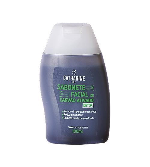 Sabonete Facial de Carvão Ativado - Self Care - Catharine Hill
