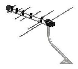 Antena externa de TV digital Multilaser RE218 VHF e UHF