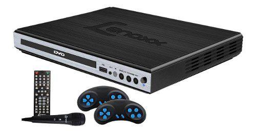 Dvd Lenoxx Game E Karaoke Usb Dk-420