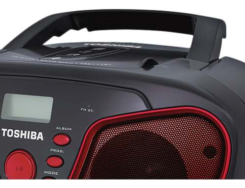 Rádio Toshiba Bluetooth Aux Usb Micro Sd Am/fm Mp3 - Tr6117bt