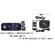 Dvd Automotivo Fm, Usb, Sd E Ent. Aux+receptor Tv Digital