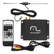 Receptor De Tv Digital Automotivo Multilaser Full Seg Au908