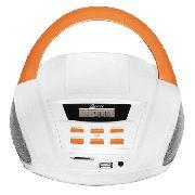 - Rádio Portátil Fm Usb Sd Aux 3,5w Bivolt/pilha Lenoxx Bd109