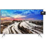 "Smart TV MU7000 82"" Premium UHD 4K, HDR 1000, Controle Remoto Único, One Connect"