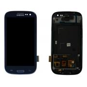 Frontal Completo Samsung Galaxy S3 Azul Gt-9300 Gh97-13630a