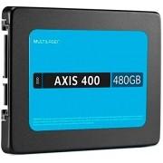 Ssd Multilaser 2,5 Pol. 480Gb Axis 400 - Gravação 400 Mb/S - SS401
